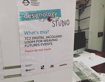 Researchers work on TC2 at London Transport Museum!