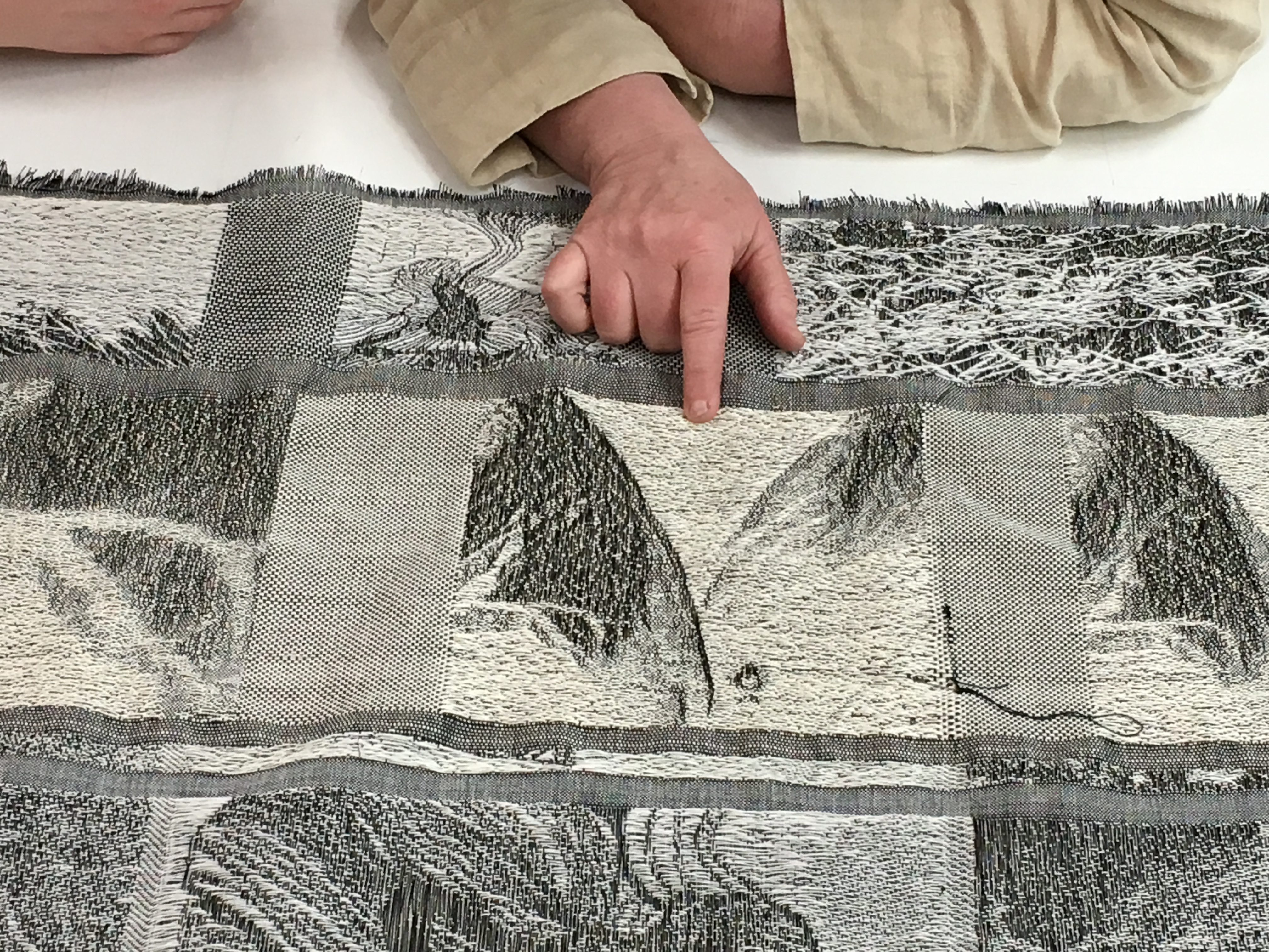 Checking Fabric Design