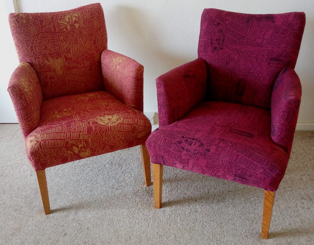 Printed Design Sofa Chair
