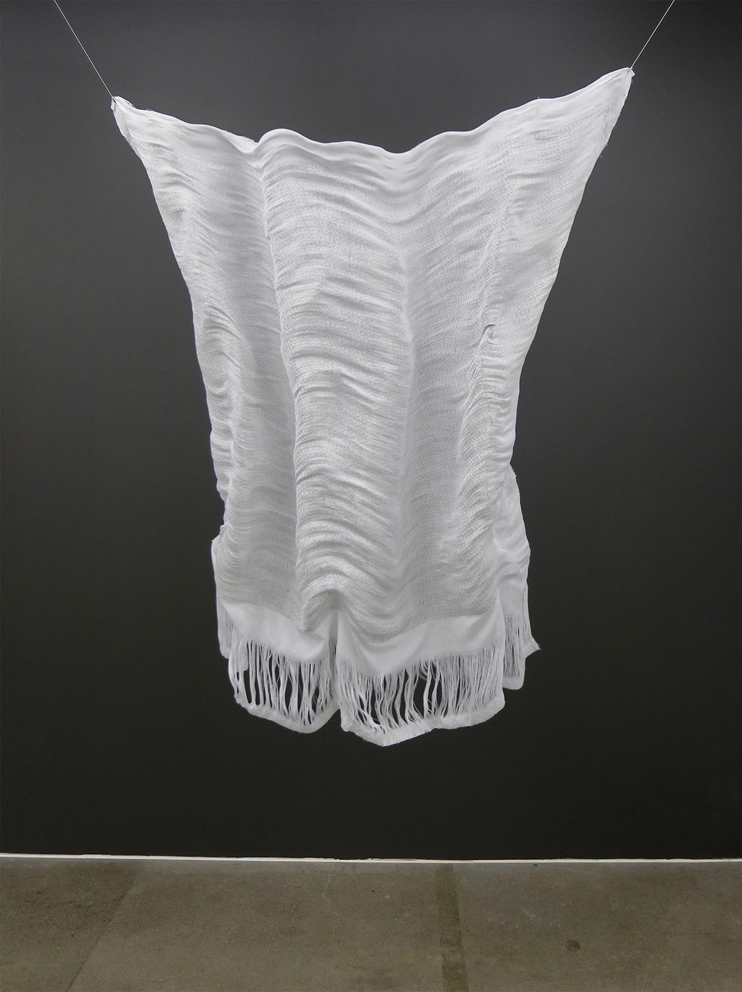 White Fabric Hanging