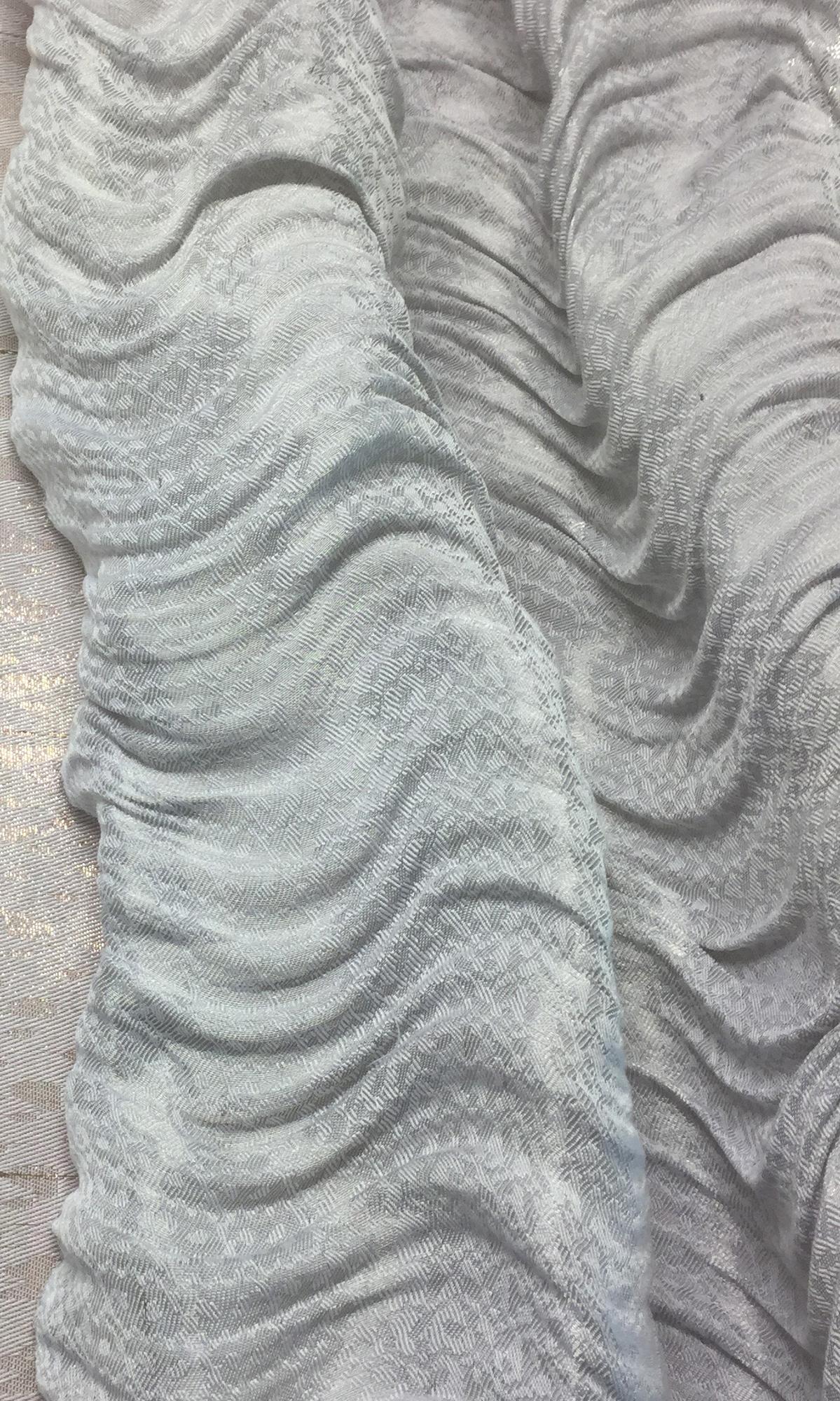 Silver Color Cloth