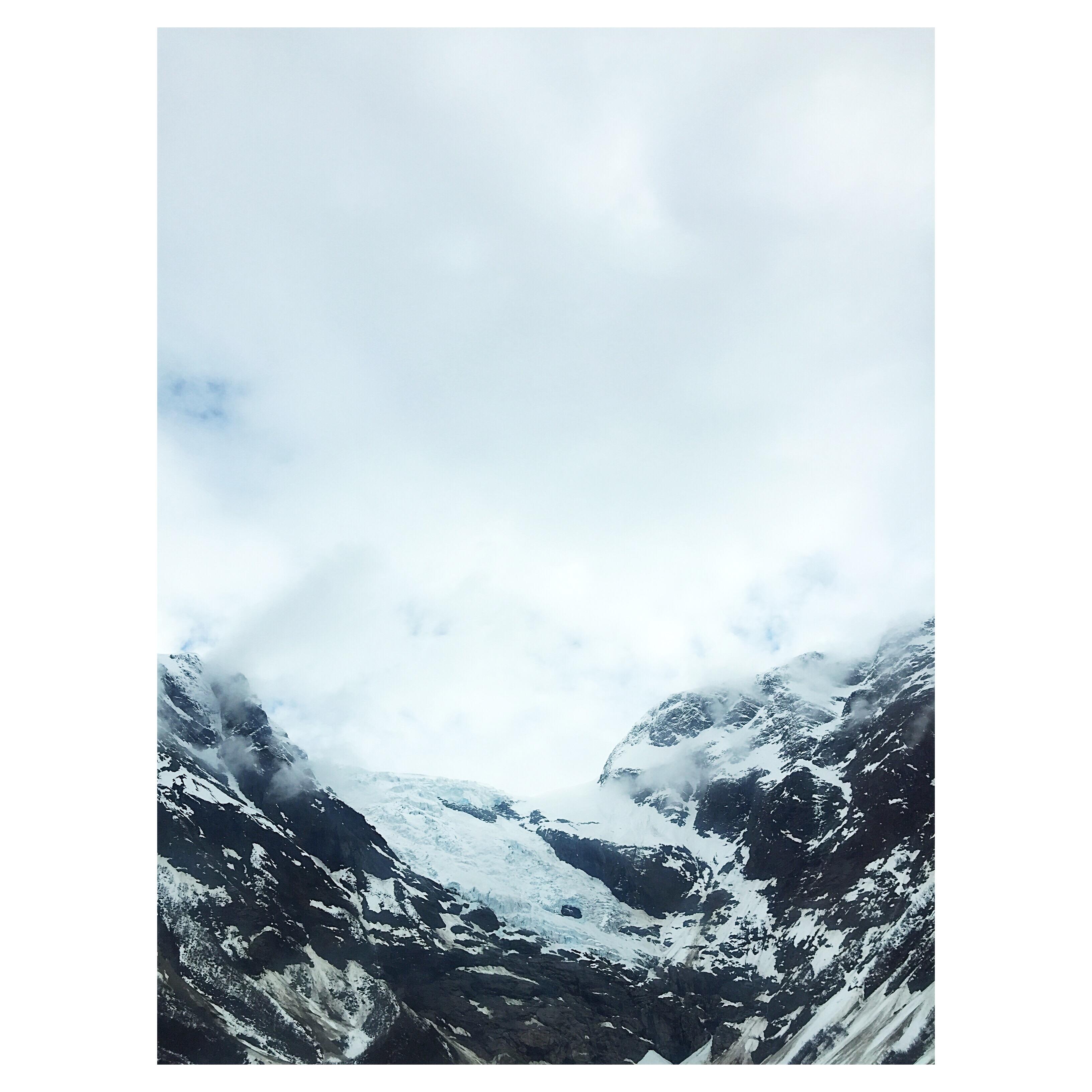 Jacquard glacier loom