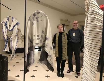 Scarfs by Luxembourg-artists at national exhibition!