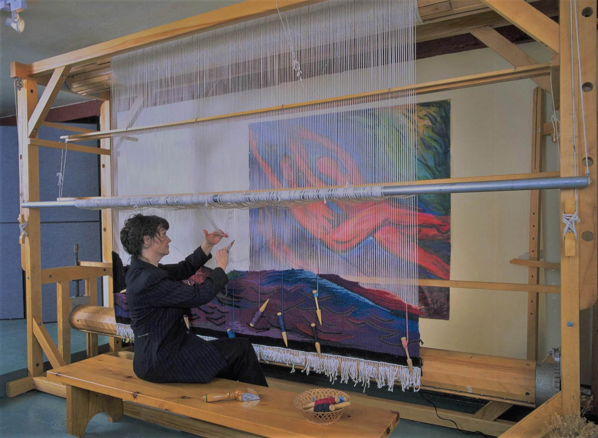 Meet Paulette Sauve in our Artist Showcase - Digital Weaving Norway