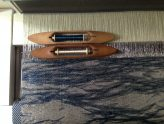 Wen-Ying creates handbags woven in metallic yarns!