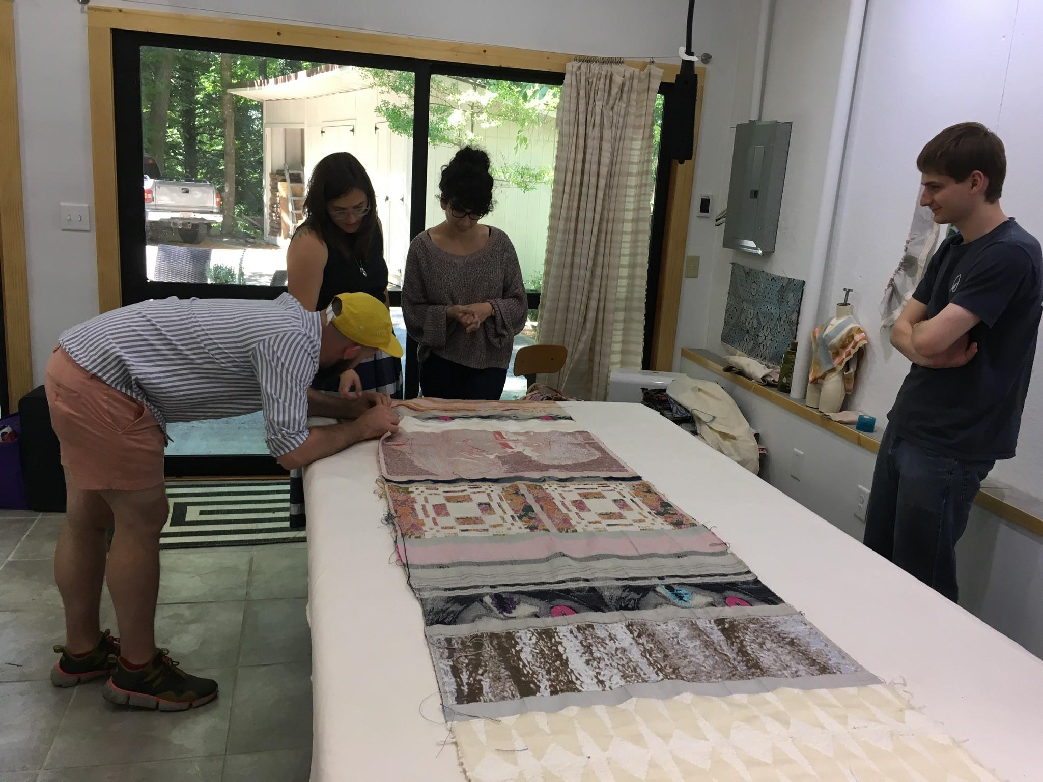 Summer workshops at The Jacquard Center