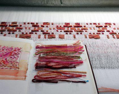 Sofia recreates age-old Scandinavian weave patterns!