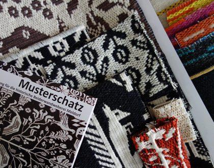 Heritage of patterns at Beiderwand Weaving Workshop