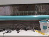 Katja's recent works: Designing and Sampling textiles