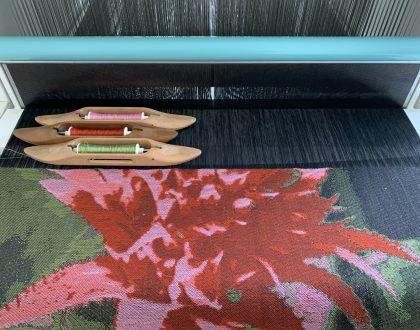 Jacquard Weaving Workshop by Wen-Ying Huang